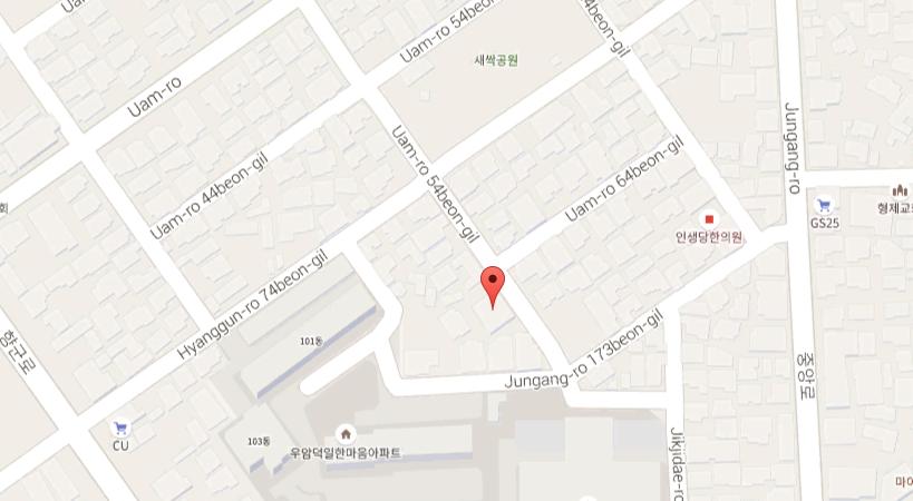 Pungcheon Building Second floor, 30, Uamu-ro 50 beon-gil, Cheongju-si, Chungcheongbuk-do, Korea